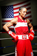 6/24/11 2:59:36 PM -- Colorado Springs, CO. -- A portrait of U.S. Olympic lightweight boxer Queen Underwood, 27, of Seattle, Wash. who will be competing for her fifth title. She began boxing in 2003 and was the 2009 Continental Champion and the 2010 USA Boxing National Champion. She is considered a likely favorite to medal at the 2012 Summer Olympics in London as women's boxing makes its debut as an Olympic sport. -- ...Photo by Marc Piscotty, Freelance.