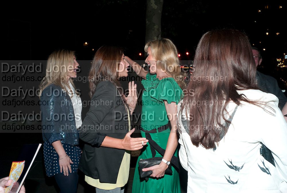HEIDI RANGE; MELANIE BLATT; TAMZIN OUTHWAITE, PARTY AFTER THE OPENING OF SWEET CHARITY.  National Portrait Gallery cafe. London. 4 May 2010.  *** Local Caption *** -DO NOT ARCHIVE-© Copyright Photograph by Dafydd Jones. 248 Clapham Rd. London SW9 0PZ. Tel 0207 820 0771. www.dafjones.com.<br /> HEIDI RANGE; MELANIE BLATT; TAMZIN OUTHWAITE, PARTY AFTER THE OPENING OF SWEET CHARITY.  National Portrait Gallery cafe. London. 4 May 2010.