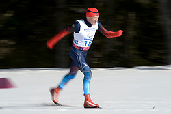 KONONOV Vladimir competing in the Nordic Skiing XC Long Distance at the 2014 Sochi Winter Paralympic Games, Russia