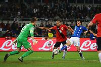 Alessandro Florenzi Italia gol Goal celebration 1-1 <br /> Roma 13-10-2015 Stadio Olimpico Euro 2016 qualificazioni - Qualifying round group H Italia - Norvegia / Italy - Norway Foto Andrea Staccioli / Insidefoto