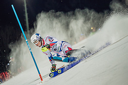 "29.01.2019, Planai, Schladming, AUT, FIS Weltcup Ski Alpin, Slalom, Herren, 1. Lauf, im Bild Victor Muffat-Jeandet (FRA) // Victor Muffat-Jeandet of France in action during his 1st run of men's Slalom ""the Nightrace"" of FIS ski alpine world cup at the Planai in Schladming, Austria on 2019/01/29. EXPA Pictures © 2019, PhotoCredit: EXPA/ Dominik Angerer"
