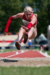 RODOMAKINA Nikol, RUS, Long Jump, T46, 2013 IPC Athletics World Championships, Lyon, France
