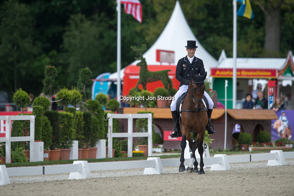 Jonathan Paget (NZL) & Bullet Proof - Dressage - Luhmuhlen CCI4* - Salzhausen, Germany - 14 June 2013