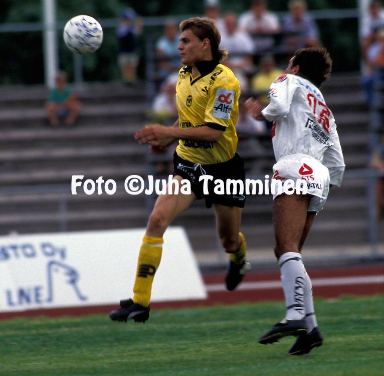 04.08.1991.Markku Raatikainen - Kuopion Palloseura.©Juha Tamminen