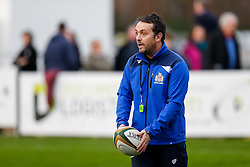 Bristol Rugby First Team Backs & Skills Coach Matthew Sherratt looks on - Mandatory byline: Rogan Thomson/JMP - 19/12/2015 - RUGBY UNION - Goldington Road - Bedford, England - Bedford Blues v Bristol Rugby - B&I Cup.
