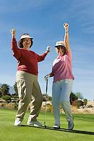 Triumphant Golfers