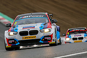 Colin Turkington - Team BMW - BMW 125i M Sport during the Dunlop MSA British Touring Car Championship at Brands Hatch, Fawkham, United Kingdom on 8 April 2018. Picture by Aaron  Lupton.