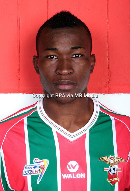 Colombia League - Postobom Liga 2014-2015 -<br /> Patriotas Futbol Club  - Colombia / <br /> Manuel Palacios