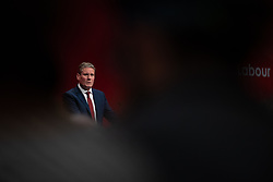 © Licensed to London News Pictures . 23/09/2019. Brighton, UK. Shadow Secretary of State for Exiting the European Union KEIR STARMER delivers his conference speech at the end of the third day of the 2019 Labour Party Conference at the Brighton Centre . Photo credit: Joel Goodman/LNP