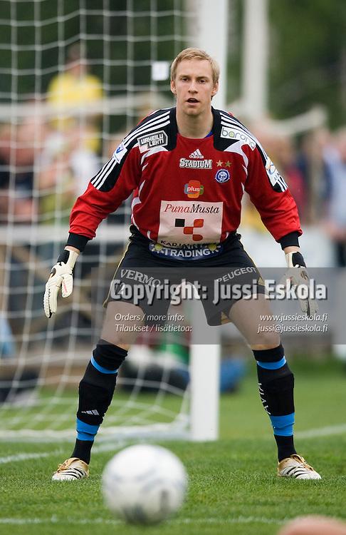 Mika Johansson. Honka-HJK, Veikkausliiga, Tapiola 27.5.2007. Photo: Jussi Eskola