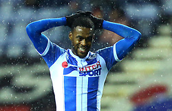 Gavin Massey of Wigan Athletic - Mandatory by-line: Robbie Stephenson/JMP - 17/01/2018 - FOOTBALL - DW Stadium - Wigan, England - Wigan Athletic v Bournemouth - Emirates FA Cup third round proper