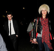 28.FEBRUARY.2009. LONDON<br /> <br /> MARK RONSON HEADS TO BUNGALO 8 CLUB TO MEET SISTER SAM AND HER GIRLFRIEND LINDSAY LOHAN AND DANIEL MERRYWETHER WHERE THEY PARTIED TILL 3.30AM AND THEN WENT ONTO A FRIENDS HOUSE IN SHOREDITCH WITH MARK. MARK THEN LEFT WITH A MYSTERY GIRL AT 4.30AM. <br /> <br /> BYLINE: EDBIMAGEARCHIVE.COM<br /> <br /> *THIS IMAGE IS STRICTLY FOR UK NEWSPAPERS AND MAGAZINES ONLY*<br /> *FOR WORLD WIDE SALES AND WEB USE PLEASE CONTACT EDBIMAGEARCHIVE - 0208 954 5968*