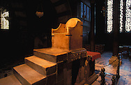 DEU, Germany, Aachen, throne Charlemagne at the cathedral....DEU, Deutschland, Aachen, der Thron Karls des Grossen im Dom. .. ......