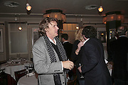 Theo Fennell, Bob Carlos Clarke: Dark Genius - launch & memorial <br />at  Luciano, 72 St James's Street, London, SW1, Party at Sir Rocco Forte and Marco Pierre White's restaurant launching new permanent exhibition of pieces by the late Irish photographer, 13 November 2006. ONE TIME USE ONLY - DO NOT ARCHIVE  © Copyright Photograph by Dafydd Jones 66 Stockwell Park Rd. London SW9 0DA Tel 020 7733 0108 www.dafjones.com