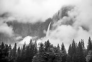Yosemite Fall - 2,425 ft. -  at Yosemite National Park on May 15, 2017<br /> <br /> photo by Samuel Navarro