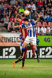 12-05-2018 NED: FC Utrecht - Heerenveen, Utrecht<br /> FC Utrecht win second match play off with 2-1 against Heerenveen and goes to the final play off / (L-R) Willem Janssen #14 of FC Utrecht, Yuki Kobayashi #21 of SC Heerenveen