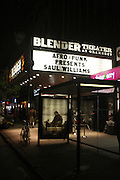 Atmosphere at The Afro-Punk Tour featuring Saul Williams held at The Blender Theater on October 21, 2009