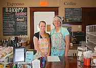 Co-owners Cindy Kettelkamp and Emily Hamilton (from left) at The Kettel House Bakery & Cafe in Marion on Tuesday, June 18, 2013.