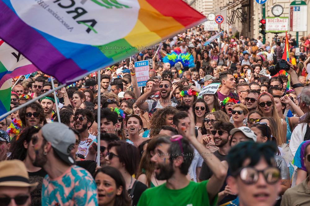 Roma, 10/06/2017: Gay Pride parade.<br /> &copy; Andrea Sabbadini