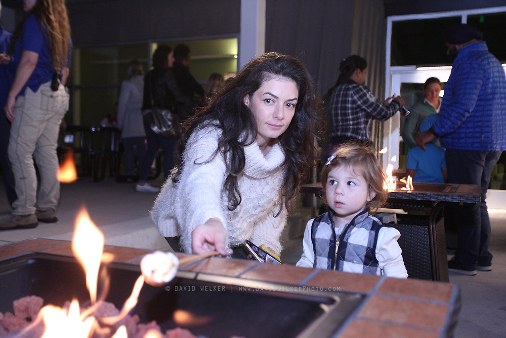 Members of YPO spend a family night at {{location}} on October 13, 2017 in West Orange, NJ. (David Welker)