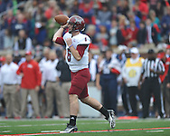 Ole Miss vs. Troy quarterback Corey Robinson (6) at Vaught-Hemingway Stadium in Oxford, Miss. on Saturday, November 16, 2013. Ole Miss won 51-21.