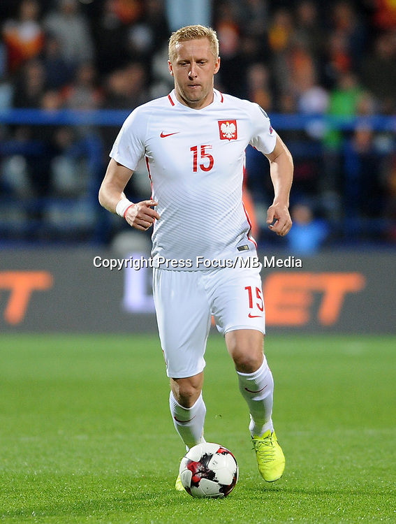 2017.03.26 Podgorica<br /> Pilka Nozna Reprezentacja Eliminacje Mistrzostw Swiata Rosja 2018<br /> Czarnogora - Polska <br /> N/z Kamil Glik<br /> Foto Rafal Rusek / PressFocus<br /> <br /> 2017.03.26 Podgorica<br /> Football Team World Cup Qualifiers Russia 2018<br /> Montenegro - Poland<br /> Kamil Glik<br /> Credit: Rafal Rusek / PressFocus