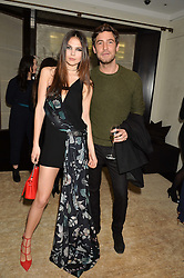 DOINA CIOBANU and ROBERT KONJIC at the Louis Vuitton for Unicef Event #MAKEAPROMISE held at The Apartment, 17-20 New Bond Street, London on 14th January 2016.