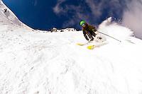 Skiing at Lake Louise Mountain Resort, near Lake Louise, Banff National Park, Alberta, Canada