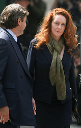 ** File pics - Rebekah Brooks return to News UK** © Licensed to London News Pictures. 12/06/2012. London,Britain. Rebekah Brooks and her husband Charlie leave Westminster Magistrates Courts. Photo credit : Thomas Campean/LNP