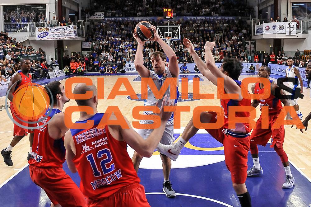 DESCRIZIONE : Eurolega Euroleague 2015/16 Gruppo D Dinamo Banco di Sardegna Sassari - CSKA Mosca Moscow<br /> GIOCATORE : Denis Marconato<br /> CATEGORIA : Rimbalzo<br /> SQUADRA : Dinamo Banco di Sardegna Sassari<br /> EVENTO : Eurolega Euroleague 2015/2016<br /> GARA : Dinamo Banco di Sardegna Sassari - CSKA Mosca Moscow<br /> DATA : 23/10/2015<br /> SPORT : Pallacanestro <br /> AUTORE : Agenzia Ciamillo-Castoria/L.Canu