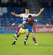 Dundee's Cammy Kerr cloes down Inverness' Liam Polworth - Inverness Caledonian Thistle v Dundee in the Ladbrokes Scottish Premiership at Caledonian Stadium, Inverness.Photo: David Young<br /> <br />  - © David Young - www.davidyoungphoto.co.uk - email: davidyoungphoto@gmail.com