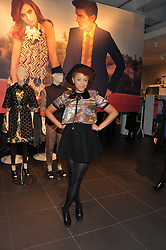 GEMMA CAIRNEY at the Launch Of The Marni For H&M Collection held at H&M Regent Street, London on 7th March 2012.