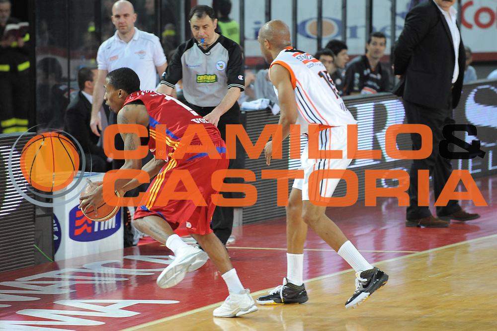 DESCRIZIONE : Roma Lega A1 2008-09 Lottomatica Virtus Roma Snaidero Udine<br /> GIOCATORE : Ibrahim Jaaber<br /> SQUADRA : Lottomatica Virtus Roma<br /> EVENTO : Campionato Lega A1 2008-2009<br /> GARA : Lottomatica Virtus Roma Snaidero Udine<br /> DATA : 01/03/2009<br /> CATEGORIA : Equilibrio<br /> SPORT : Pallacanestro<br /> AUTORE : Agenzia Ciamillo-Castoria/G.Ciamillo