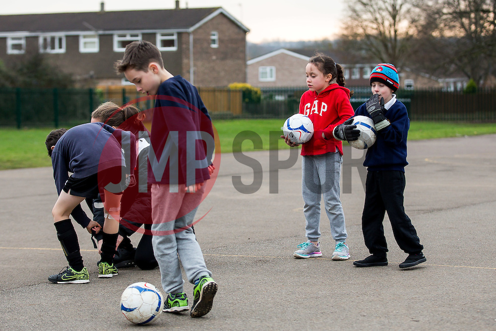 Bristol Sport Foundation School Coaching Sessions - Rogan Thomson/JMP - 09/02/2017 - SPORT - St Barnabas School - Bristol, England.