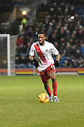 Charlton Athletic Forward, Karlan Ahearne-Grant on the ball during the Sky Bet Championship match between Burnley and Charlton Athletic at Turf Moor, Burnley, England on 19 December 2015. Photo by Mark Pollitt.