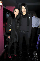 LEAH WELLER and NAT WELLER at the launch party of the Nokia 5800 phone held at PUNK 14 Soho Street, London W1 on 27th January 2009.