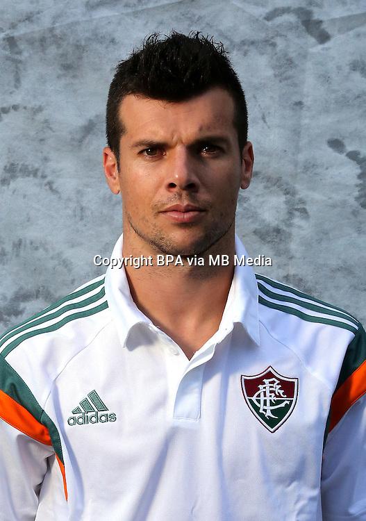 "Brazilian Football League Serie A / <br /> ( Fluminense Football Club ) - <br /> Wagner Ferreira dos Santos "" Wagner """