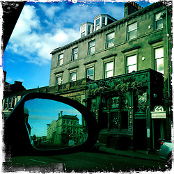 Leith..Hipstamatic images taken on an Apple iPhone..©Michael Schofield.