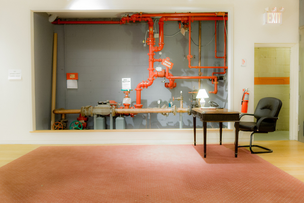 part of An Ironic Look at Water Supply series in beautiful color tone Water Main Drain Office by josh SOLSON