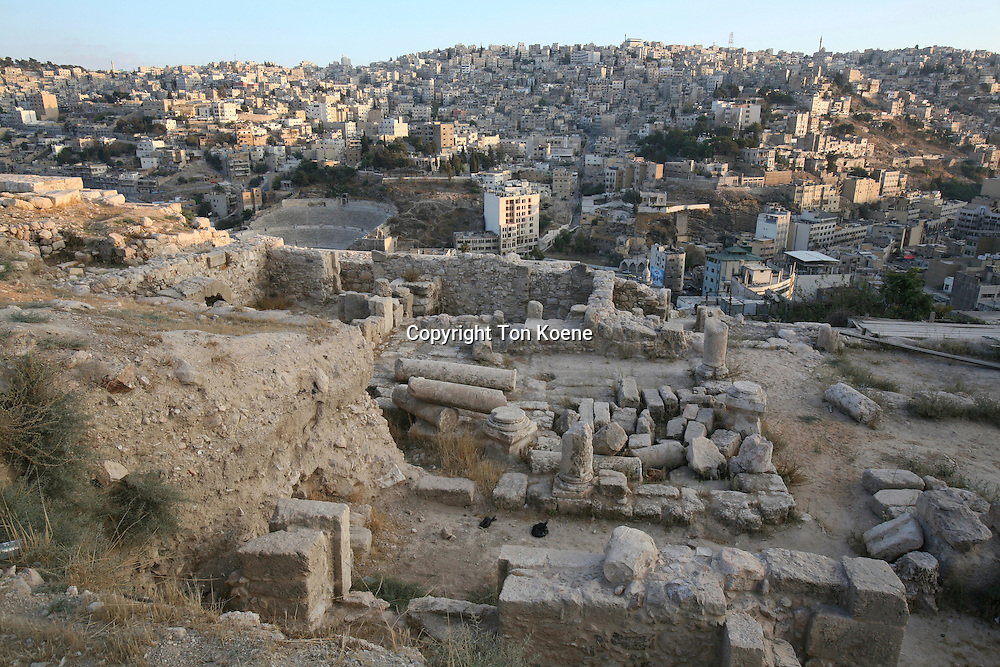 Restoration of the ancient Umayyad palace in Amman.