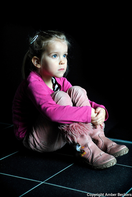 December 7, 2013 -14:45<br /> The Netherlands, Amsterdam - Zo&euml;, 4 years and 1 month old