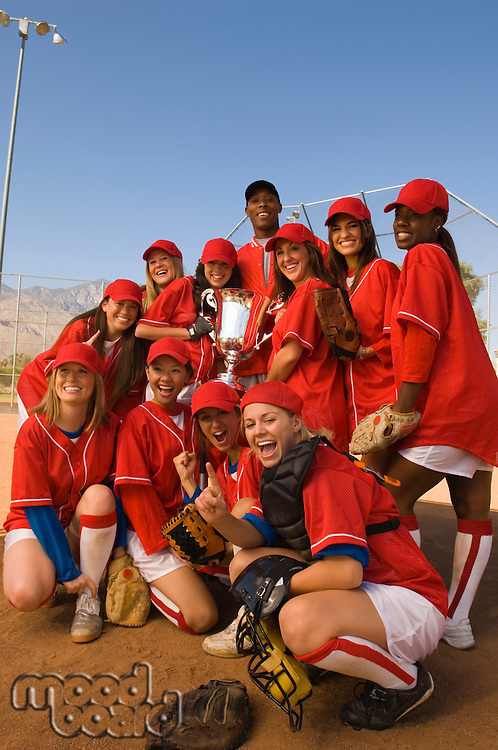 Victorious Softball Team