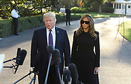 Donald Trump and First Lady Melania Trump head to Vegas - 4 Oct 2017