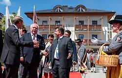 17.05.207, Zell am See, AUT, 67. Oesterreichischer Staedtetag, im Bild v.l.: Landeshauptmann von Salzburg Wilfried Haslauer, Städtebund-Präsident und Bürgermeister von Wien Michael Häupl (SPoE), Bürgermeister Peter Padourek (Zell am See) // during the Austrian General Assemblies of the Cities in Zell am See, Austria on 2017/05/17. EXPA Pictures © 2017, PhotoCredit: EXPA/ JFK