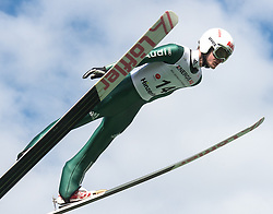27.09.2015, Energie AG Skisprung Arena, Hinzenbach, AUT, FIS Ski Sprung, Sommer Grand Prix, Hinzenbach, im Bild Marinus Kraus (GER) // during FIS Ski Jumping Summer Grand Prix at the Energie AG Skisprung Arena, Hinzenbach, Austria on 2015/09/27. EXPA Pictures © 2015, PhotoCredit: EXPA/ Reinhard Eisenbauer