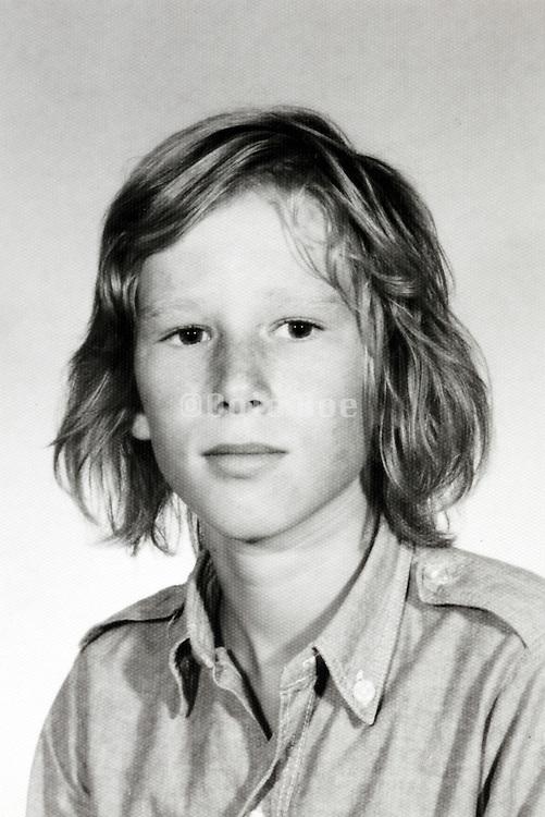 teenager portrait 1960s