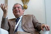 2013/06/27 Roma, assemblea Assoelettrica. Nella foto Massimo Mucchetti.<br /> Rome, Assoelettrica annual meeting. In the picture Massimo Mucchetti - &copy; PIERPAOLO SCAVUZZO
