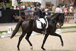 Österholm Yvonne, FIN, Ironman Platinum<br /> World ChampionshipsYoung Dressage Horses<br /> Ermelo 2018<br /> © Hippo Foto - Dirk Caremans<br /> 04/08/2018