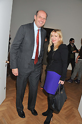 KIM SMITH-BINGHAM and JULIA DELVES-BROUGHTON at a party to celebrate the launch of the new gallery Pace at 6 Burlington Gardens, London on 3rd October 2012.