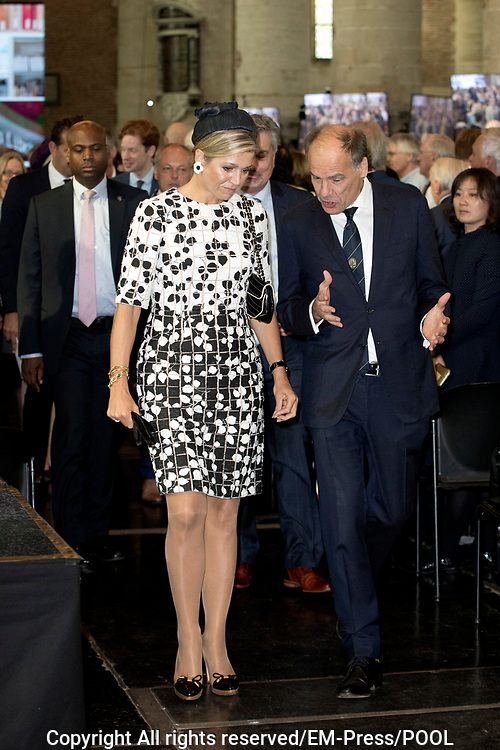 Koningin M&aacute;xima opent Asian Library Universiteit Leiden gehouden  in de Pieterskerk in Leiden<br /> <br /> Queen M&aacute;xima opens Asian Library Leiden University held in the Pieterskerk in Leiden